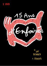 Cover Les Enfoirés - 15 ans d'Enfoirés [DVD]
